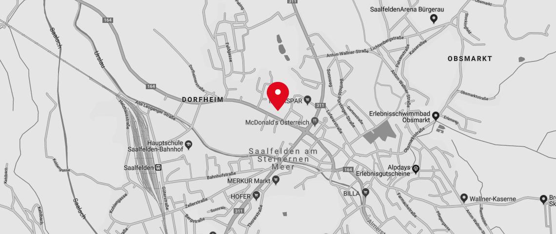 Karte Standort sitka.kaserer.architekten